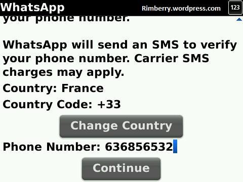 Indiquez votre numéro de téléphone portable